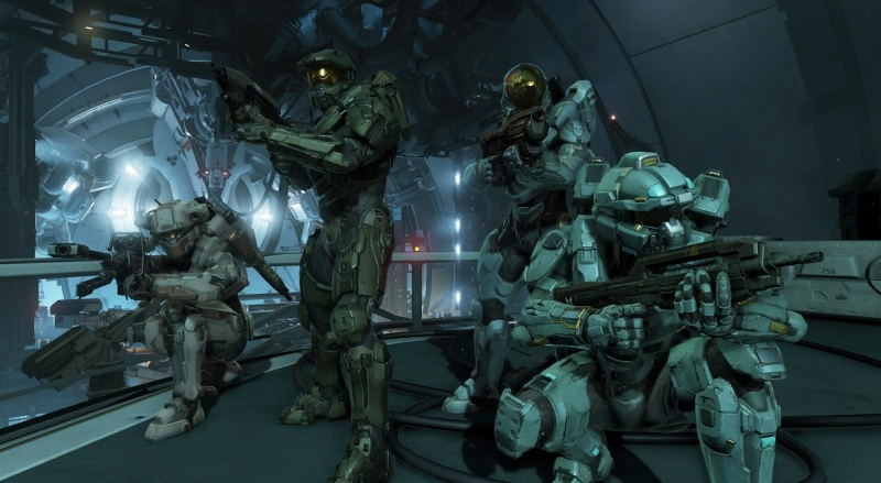 The Blue team in Halo 5: Guardians