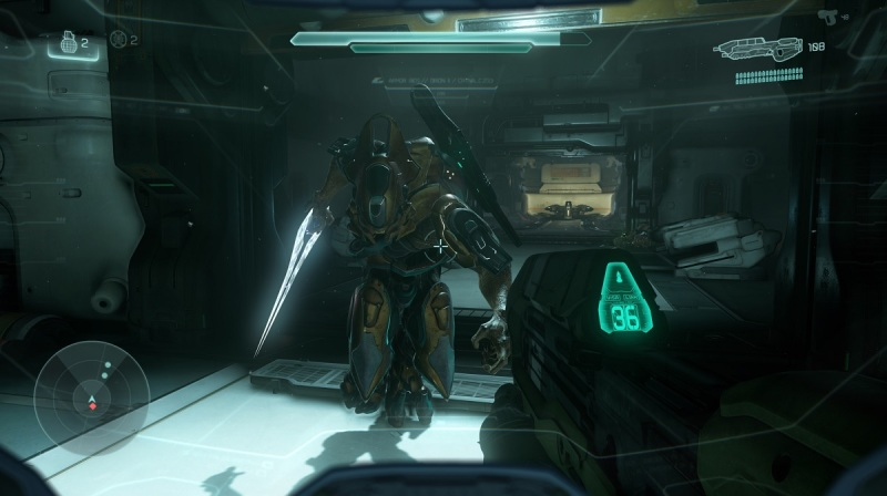 This enemy brought a knife to a gunfight in Halo 5: Guardians.