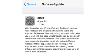 Apple says iOS 9 adoption fastest ever at more than 50%