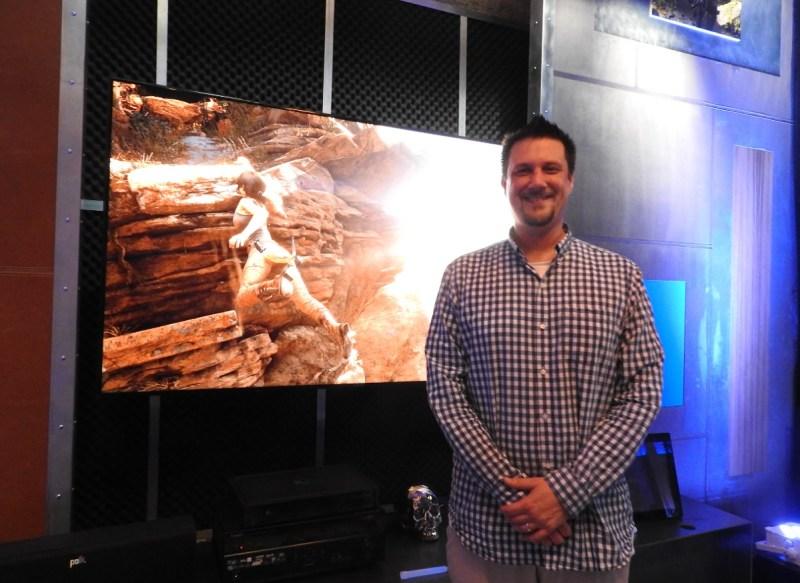 Noah Hughes has worked on Lara Croft games ever since Tomb Raider Legend