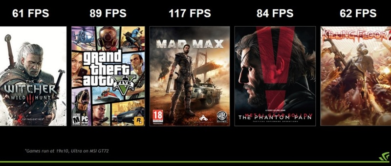 Game speeds for Nvidia's latest graphics chip.