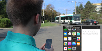 Beacons lend a helping hand to visually impaired bus passengers in Bucharest