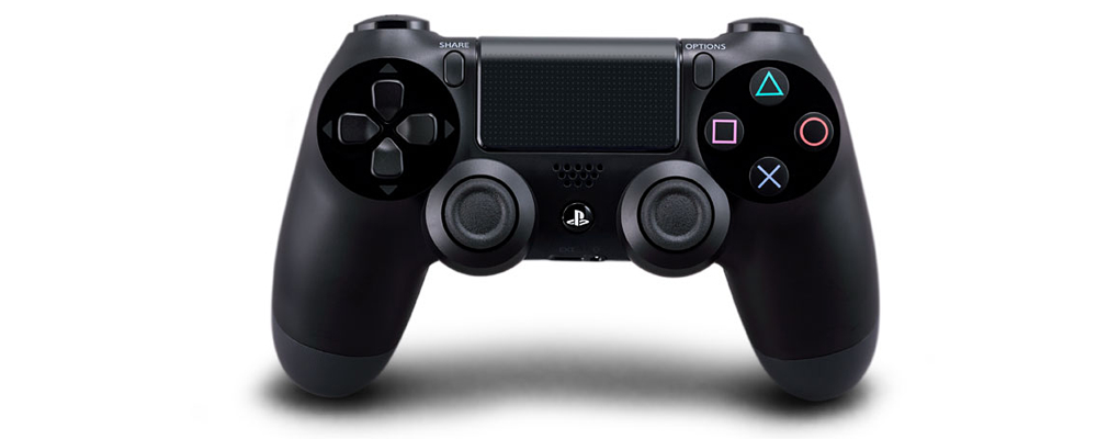 PlayStation 4 Controller in space