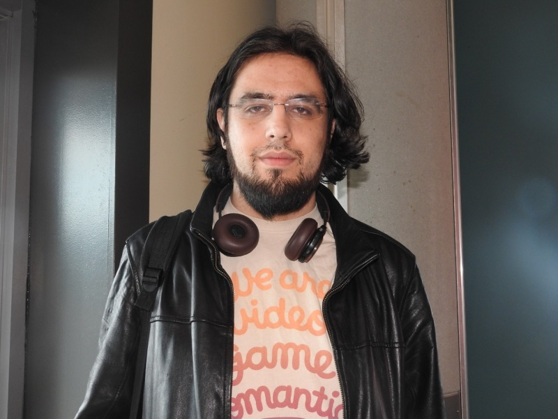 Rami Ismail of Vlambeer, an indie game maker of titles like Nuclear Throne.