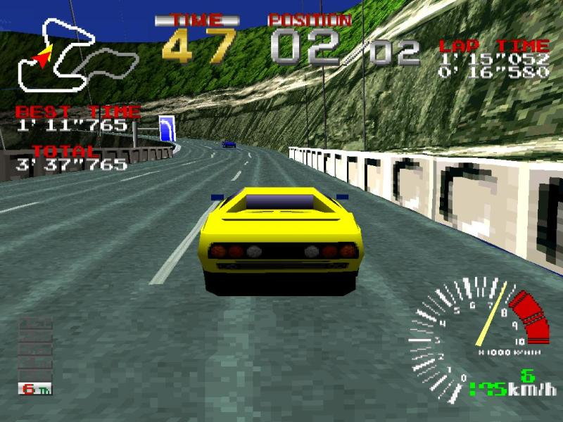 Ridge Racer blew our minds in 1995.