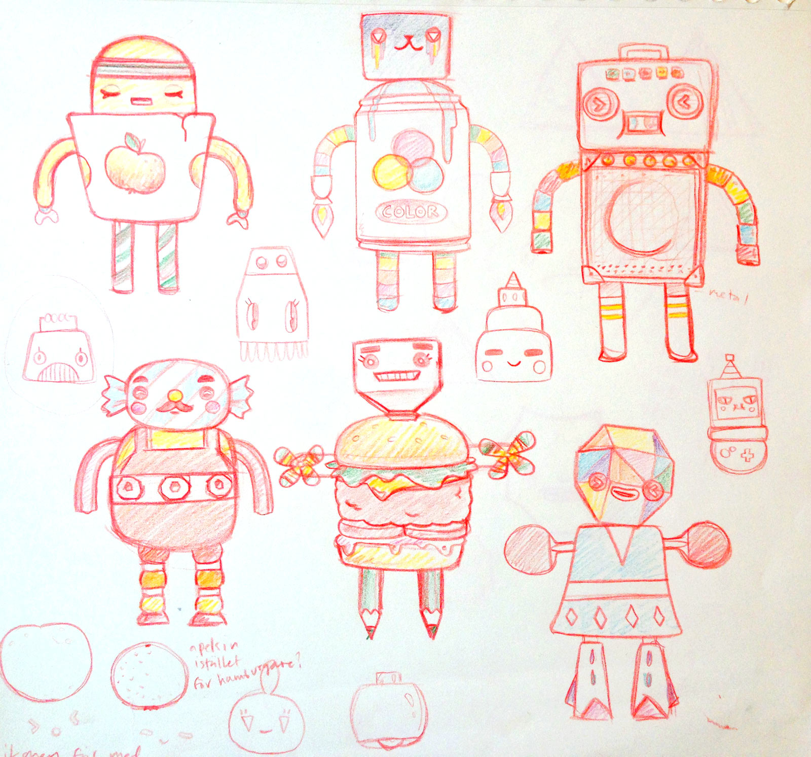 Redesigning Toca Robot Lab to be gender neutral.