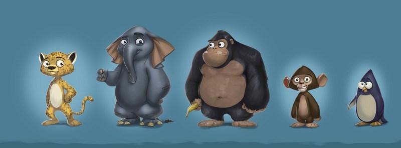 RunZoo characters
