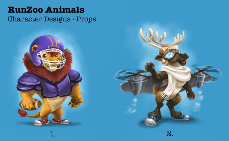 RunZoo animal designs