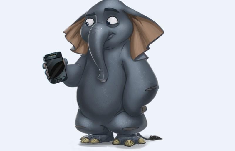 RunZoo elephant.
