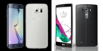 Picking an Android flagship: Samsung Galaxy S6 vs. LG G4