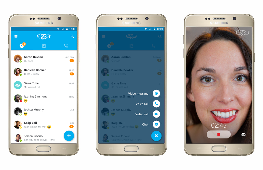 how to use skype on android box