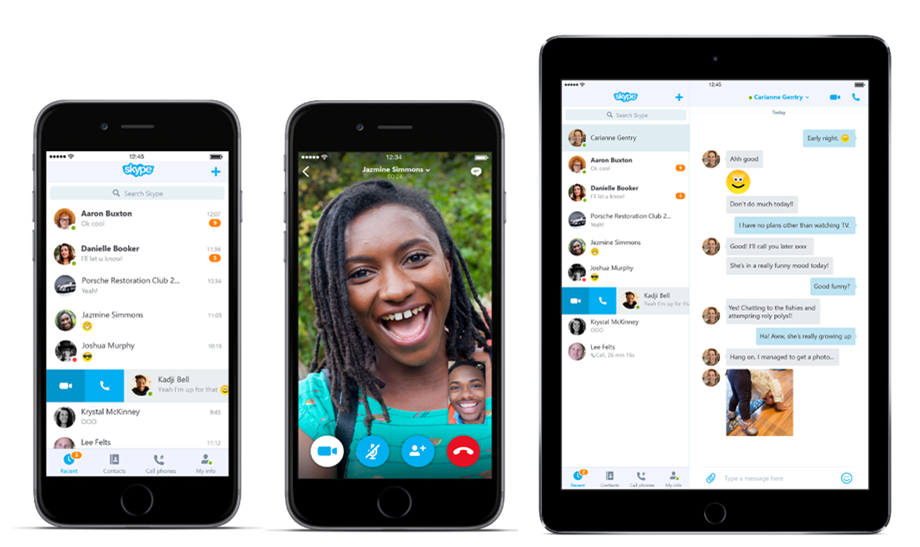 Skype redesigns its Android and iOS apps with easier navigation