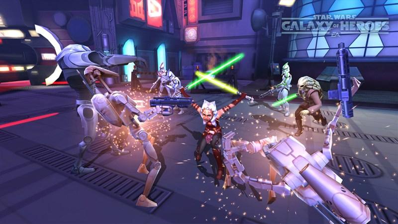 Star Wars: Galaxy of Heroes.