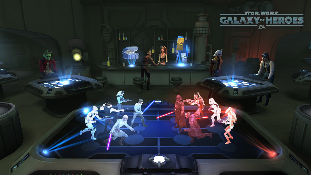 Games Like Star Wars™: Galaxy of Heroes - Apps To Play