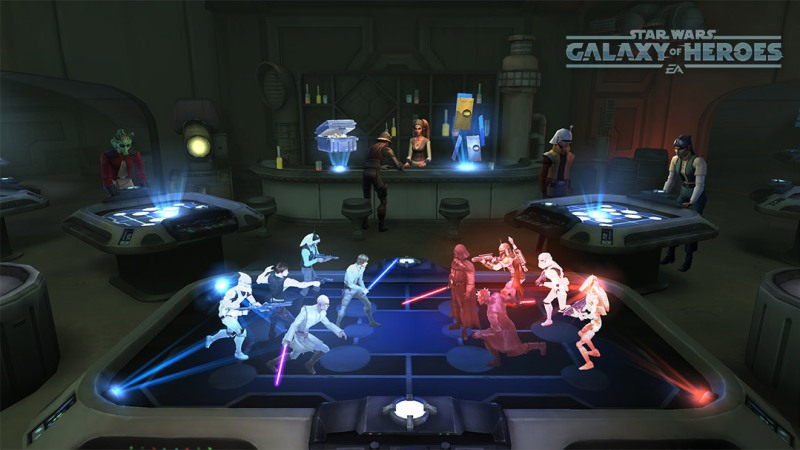 Star Wars: Galaxy of Heroes.