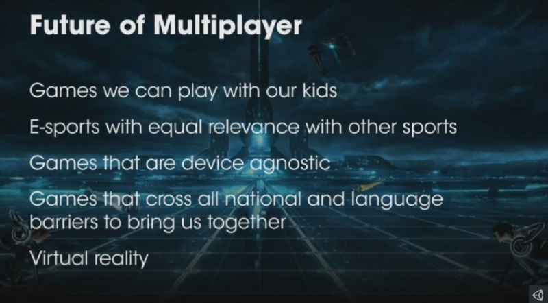 The future of multiplayer according to Unity's Rob Pardo.