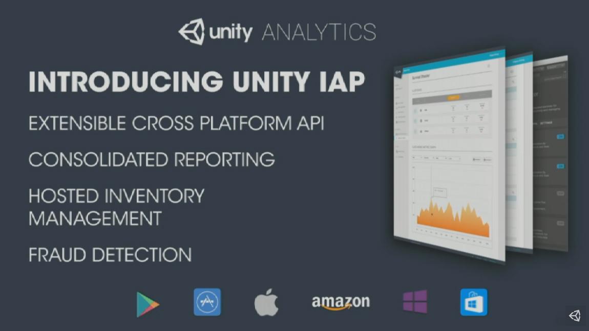 Unity announces cross-platform API to help developers make