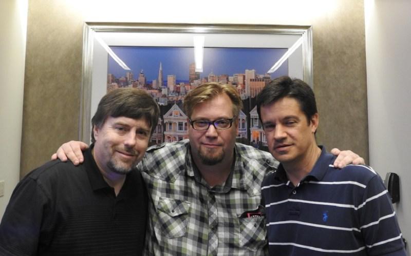 Brad McQuaid, Benjamin de la Durantaye, and Chris Rowan of Visionary Realms.