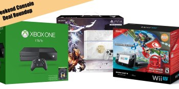 Weekend deals on Xbox One, PlayStation 4, & Wii U bundles (up to $40 off)