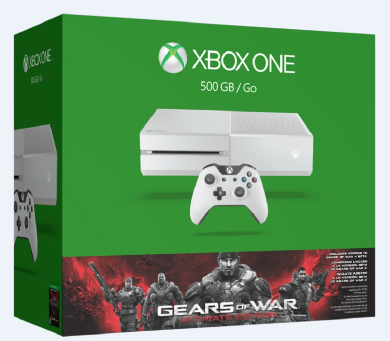 Xbox One Gears of War Ultimate Edition bundle.