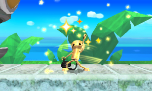 Chibi-Robo's gone gold! In the literal, powered-up sense.