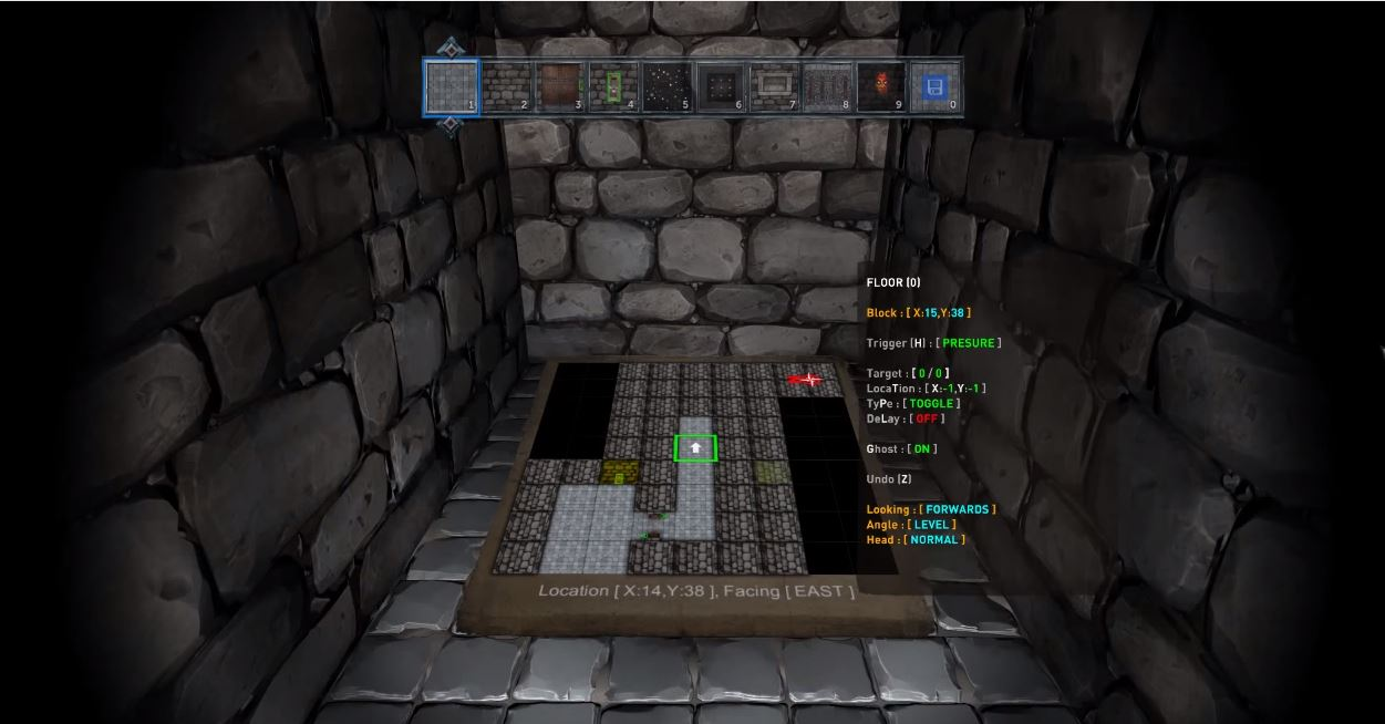 Crystal Rift features an in-game level editor.