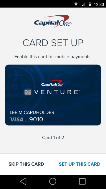 You can now make purchases with Capital One's mobile wallet