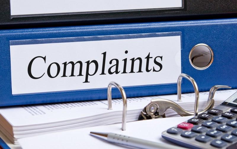 Complaints Folder