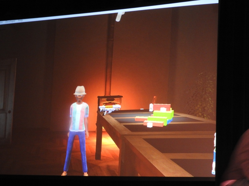 VR demo of toy room in High Fidelity.