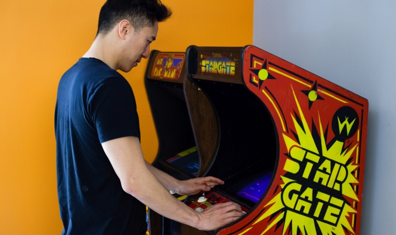 Dennis Fong was the first to make himself a star in the 1990s world of competitive gaming scene.