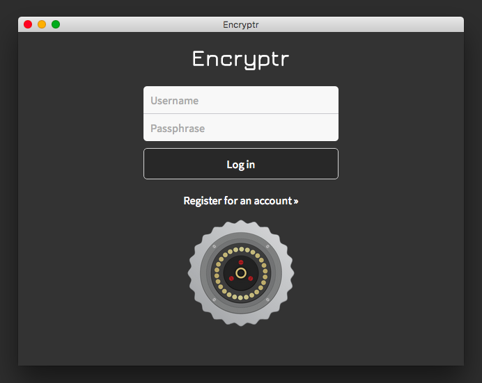 Encryptr.