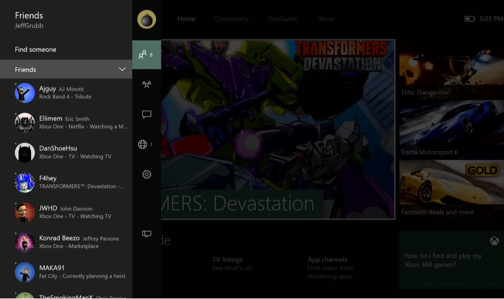 Hands-on with the new Xbox One experience -- see what's