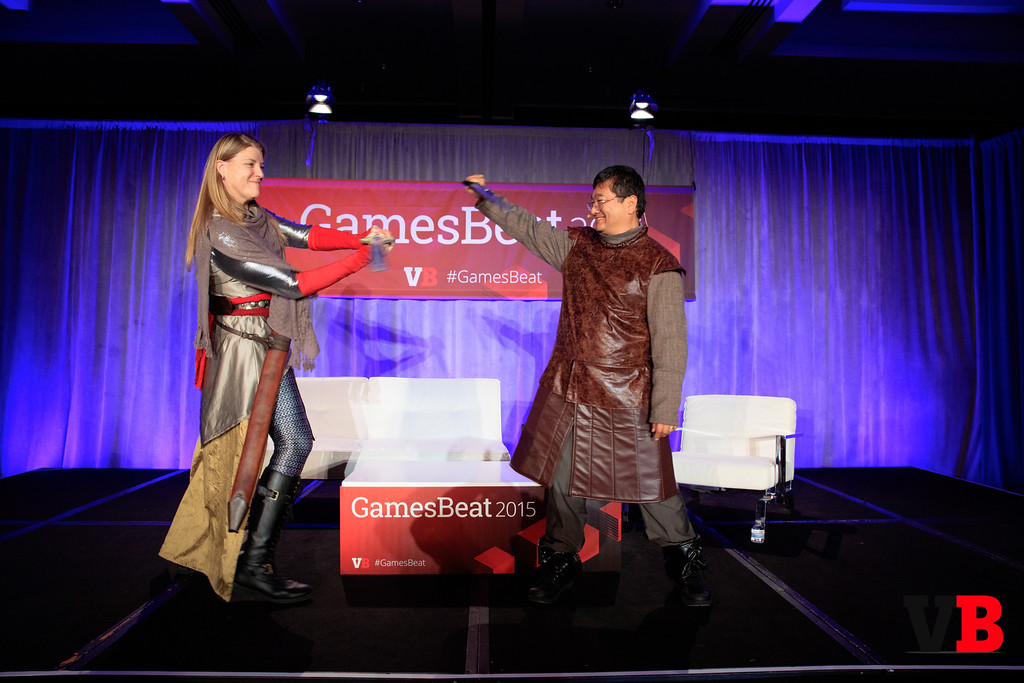 GamesBeat 2015 helped determine who is winning the game of thrones.