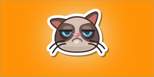 Grumpy Cat Sticker