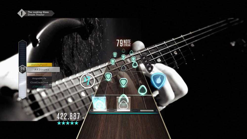 The new fret layout is capable of creating some ridiculous solos.