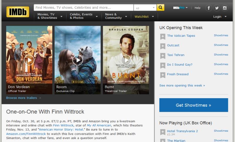 IMDb Today