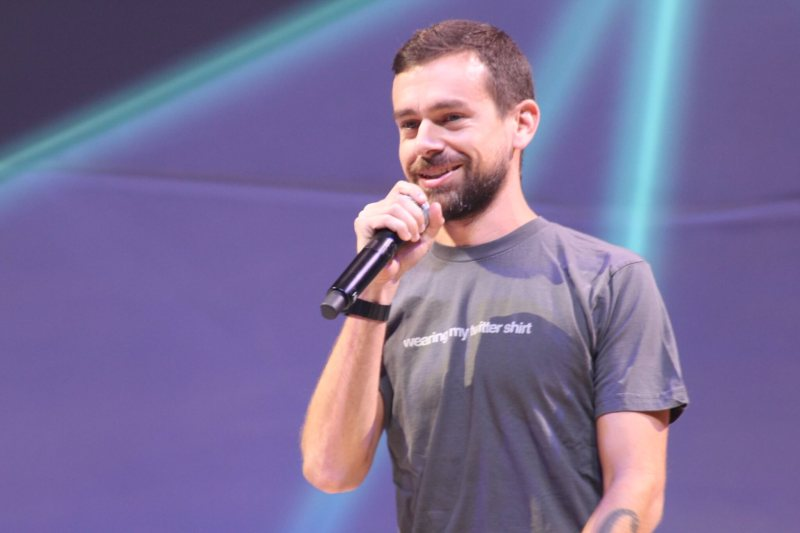 Twitter Chief Executive Jack Dorsey on stage at the Flight developer conference on October 21, 2015 at the Bill Graham Civic Auditorium in San Francisco, Calif.