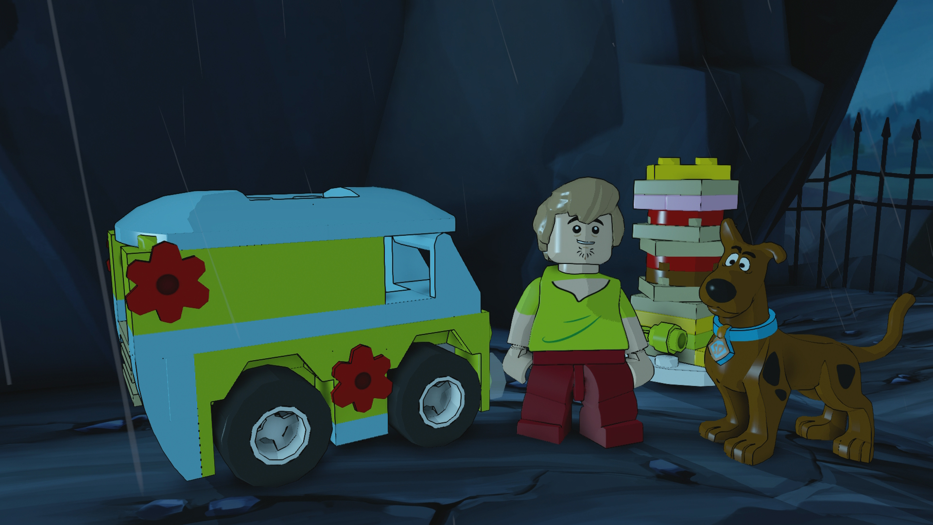 If you buy the Scooby-Doo! team pack, you can build the Mystery Machine and this giant Scooby Snack.
