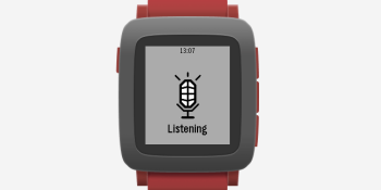 Pebble launches Dictation API to boost apps with voice recognition