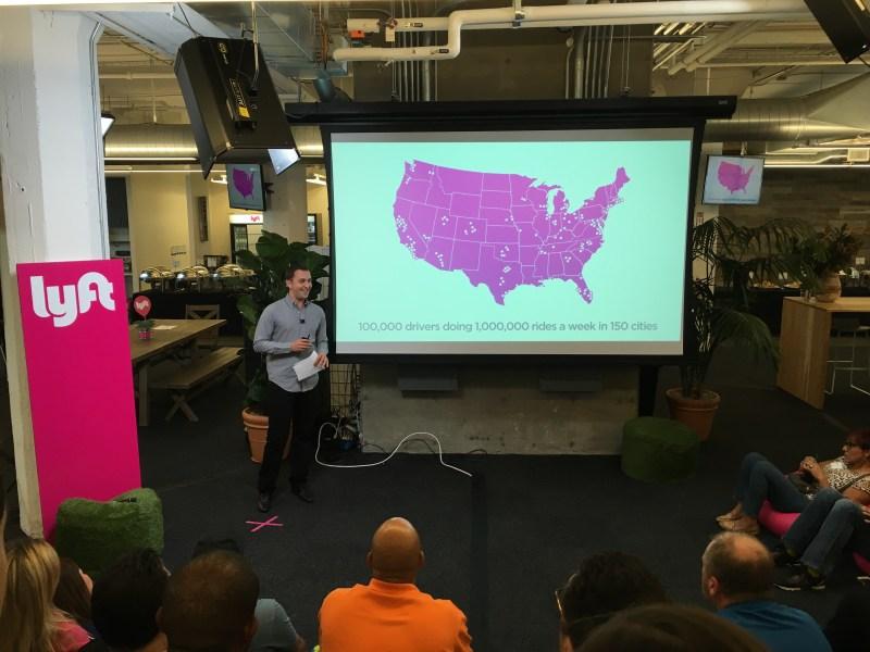 Lyft growth presentation with CEO John Zimmer