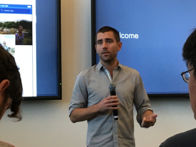 Facebook chief product officer Chris Cox