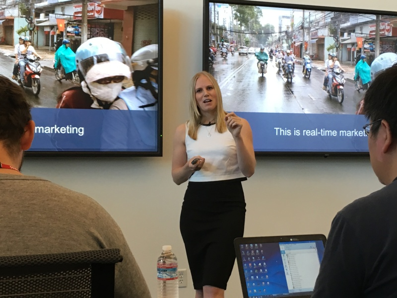 Kelly MacLean, product marketing manager around ads for emerging markets,