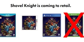 Shovel Knight's Xbox One retail release is now canceled