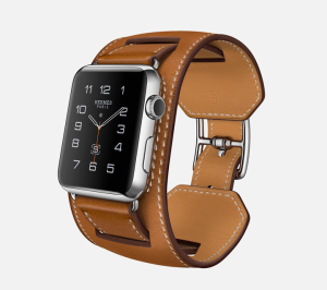 """The Apple Watch Hermes """"Cuff"""" style."""