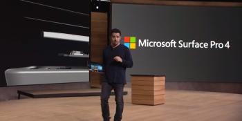 Microsoft unveils Surface Pro 4: Same size, bigger screen, starting at $899