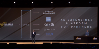 With QuickSight, Amazon is now competing with a bunch of its own AWS customers