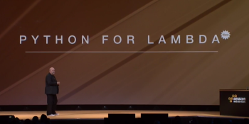 Amazon's hot Lambda service gets Python and VPC support