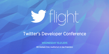 How to watch Twitter's Flight developer conference