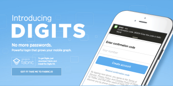 Twitter's Digits project to kill passwords can now verify email addresses