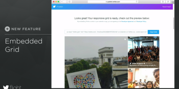 Twitter Publish is a new tool for showing off embedded tweets